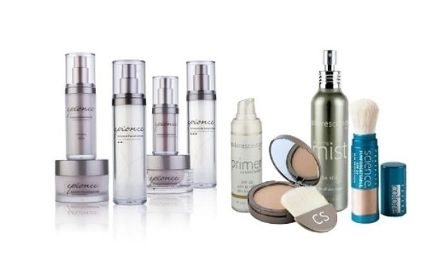 Epionce and Colourscience products