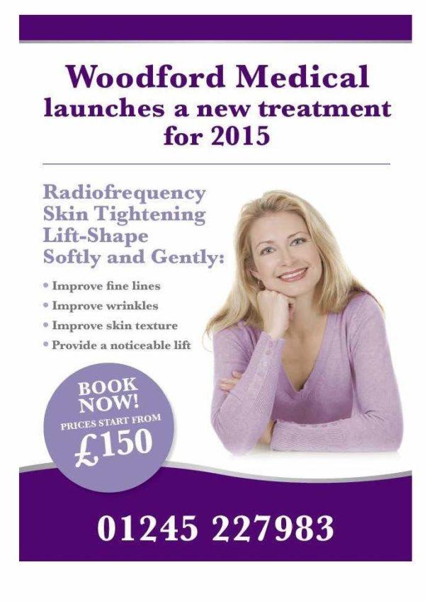 Radiofrequency Skin Tightening Lift-Shape flyer