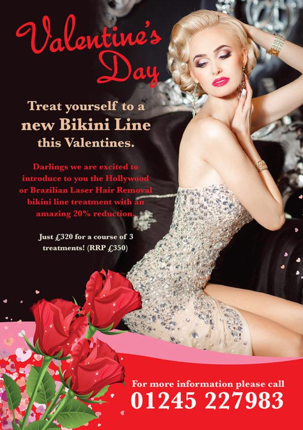 Valentine's day offer poster