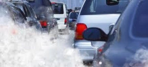 Picture of car pollution