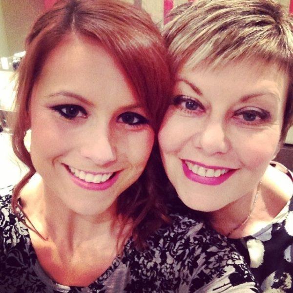 Sharon and Lauren